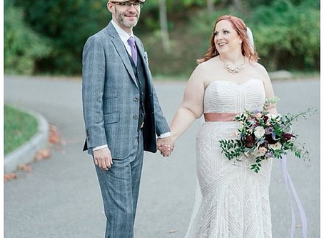Light, airy, and romantic wedding in Bar Harbor, ME captured by The Xsperience
