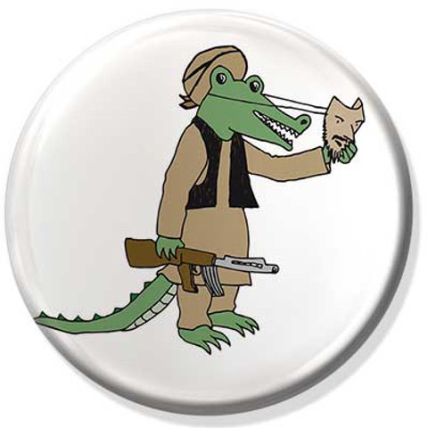 Badge Croco