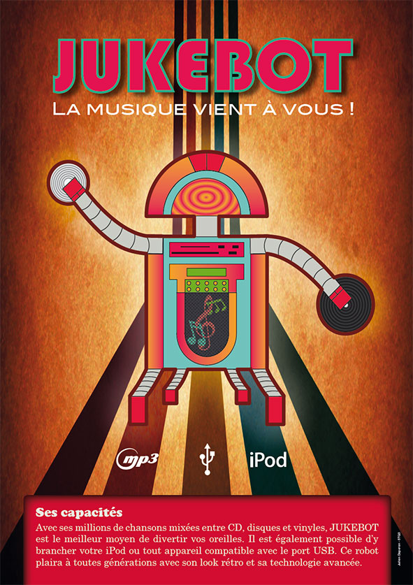 JukeBot utopie robotique musicale