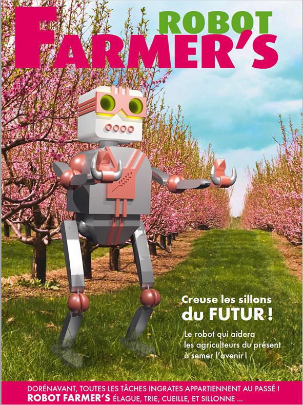 Robots Farmer utopie écologique