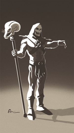 Masters of the universe: Skeletor