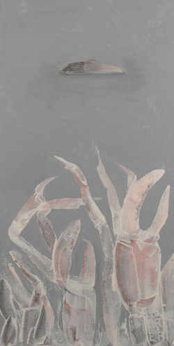 Acrylic on canvas 500X1000mm