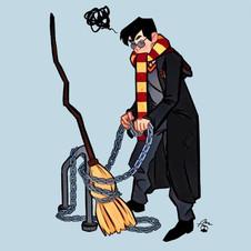 Harry Potter (struggling)