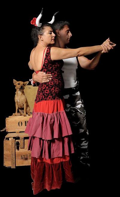 Payasadas avec Catherine Alias, Laurent Dallias