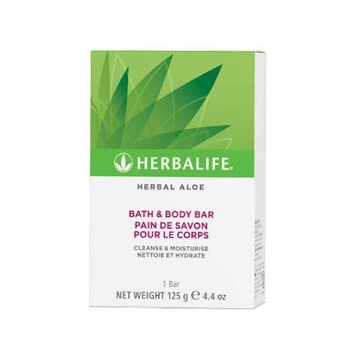 Herbal Aloé - Pain de Savon pour le corps