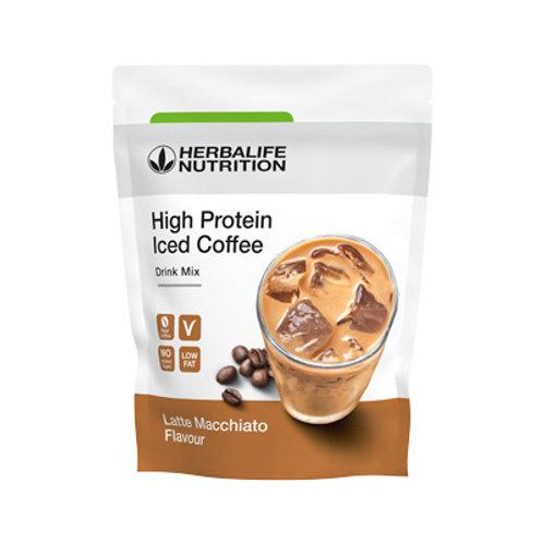 Mélange pour café frappé proteiné