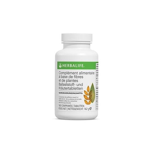 Complément alimentaire à base de fibres et de plantes
