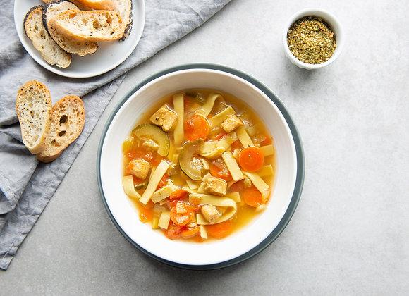 SOUPE POULET ET NOUILLES AU CARI (Roxanne cuisine)