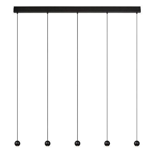 Hanglamp Balls 5   zwart   line-up