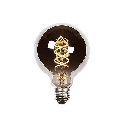 Globe Spiral LED filament - E27
