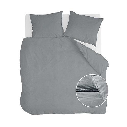 Dekbedovertrek Vintage Cotton Elephant Grey