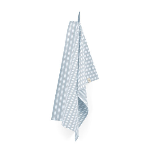 Keukendoek Dry with Stripes Jeans Blauw | set van 4