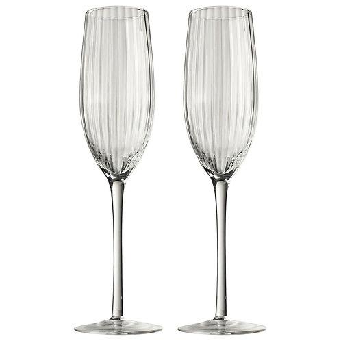 Champagne glazenset 2-delig