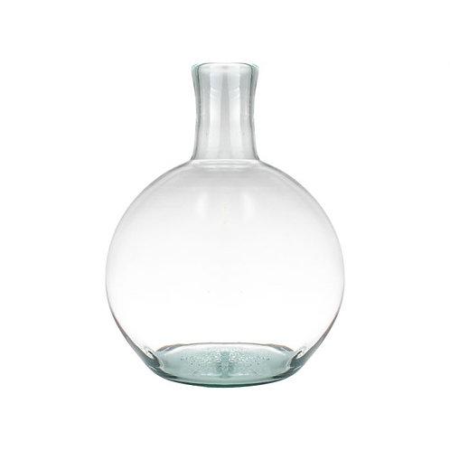 Vaas bol gerecycled glas ø22x31cm