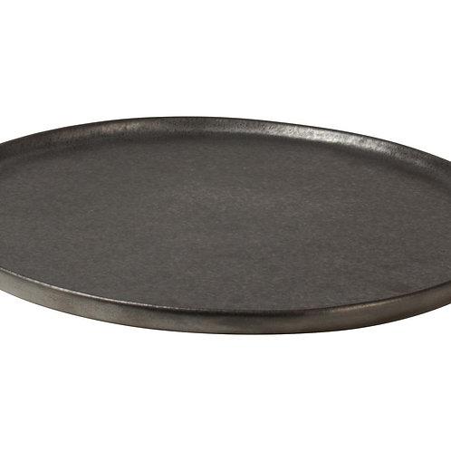 Bord ø26,5cm Zwart Table Tales Shimmer   Set van 4