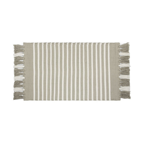 Badmat Stripes & Structure - Taupe