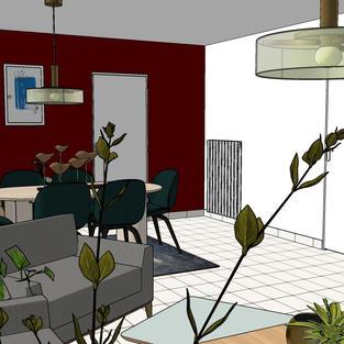 3D Visualisatie appartement
