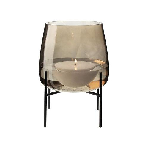 Glazen vaas met standaard ø18cm