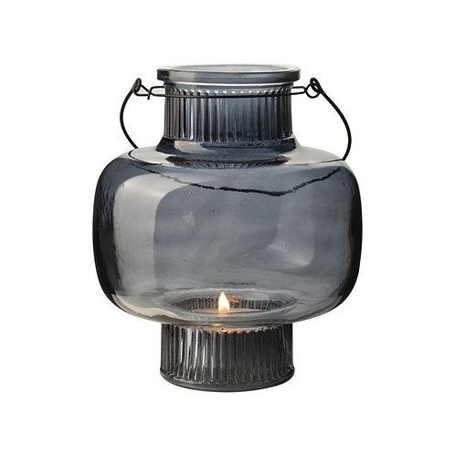 Glazen lantaarn ø17x20cm | Meerdere kleuren