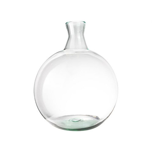 Vaas bol gerecycled glas ø32x45cm