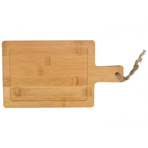 Multi Serveer Paddle Bamboe14x25cm