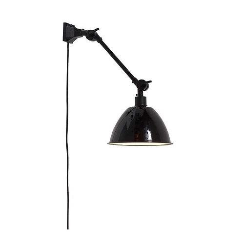 Wandlamp Amsterdam 1 - zwart