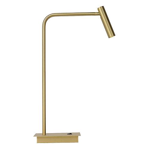 Tafellamp Pomery   antique brass