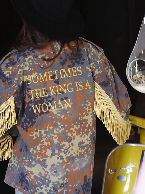 THE KING IS A WOMAN