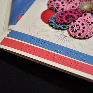 練馬産業見本市〜点字グリーティングカードをコラボ制作。展示販売します。
