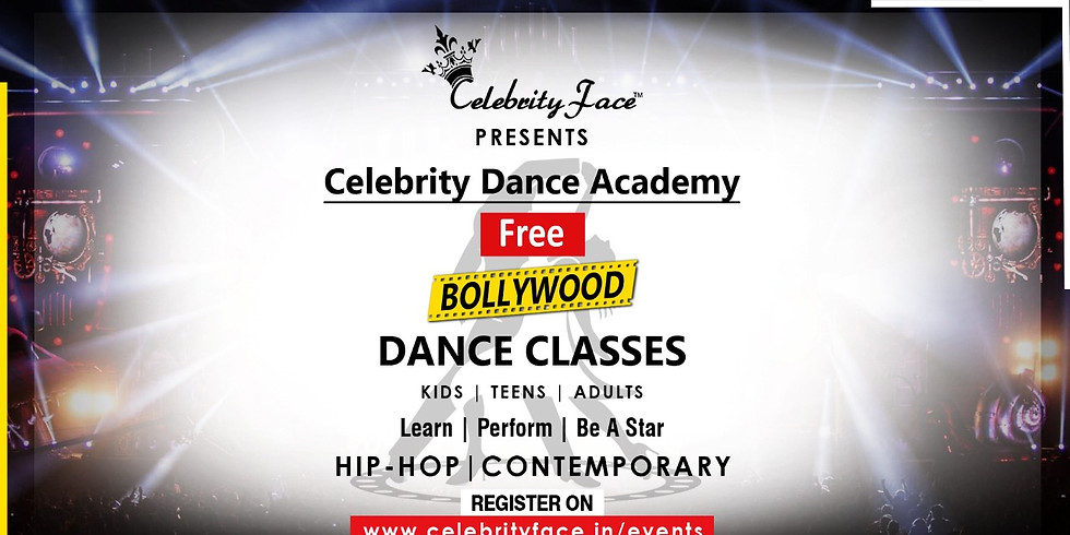 FREE Celebrity Face Dance Classes in New Delhi - Starting 25th March