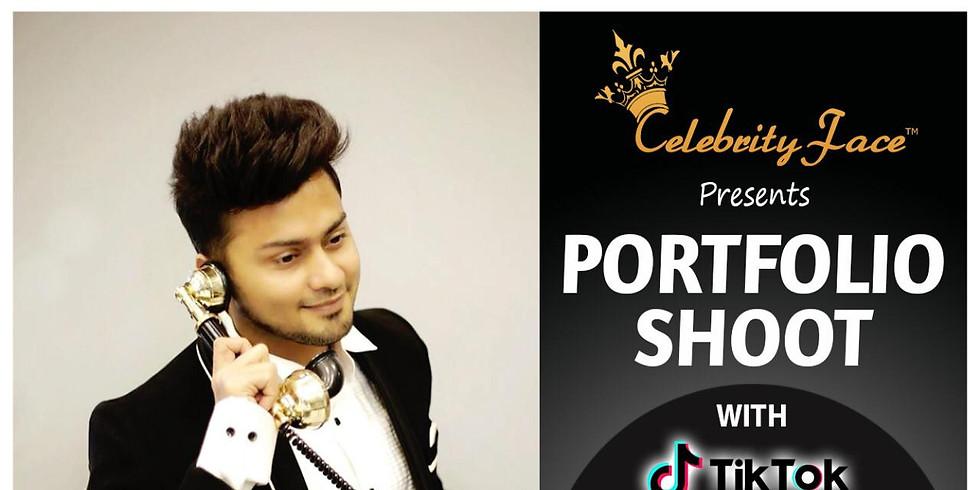 Celebrity Face Couple Fashion PhotoShoot & TikTok Videos with TikTok Star Awez Darbar