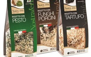 Riisotti e minestre GOURMET  pronti da preparare, ricette tipicihe della tradizione italiana