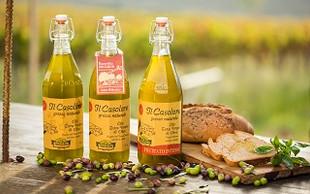 LINEA IL CASOLARE: Olio di oliva extra vergine non filtrato.