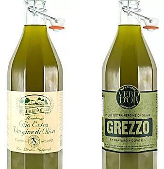 Olio di oliva extra vergine non grezzo