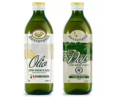Olio di oliva extra vergine 100% italiano e DOP