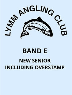 Band E - New Senior Including Overstamp.