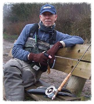 Lymm Angling Club President Charles Jardine