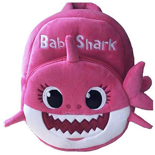 Baby Shark Pink Backpack