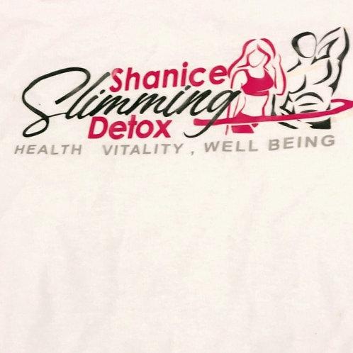 Shanice Slimming Detox T-Shirt (White)