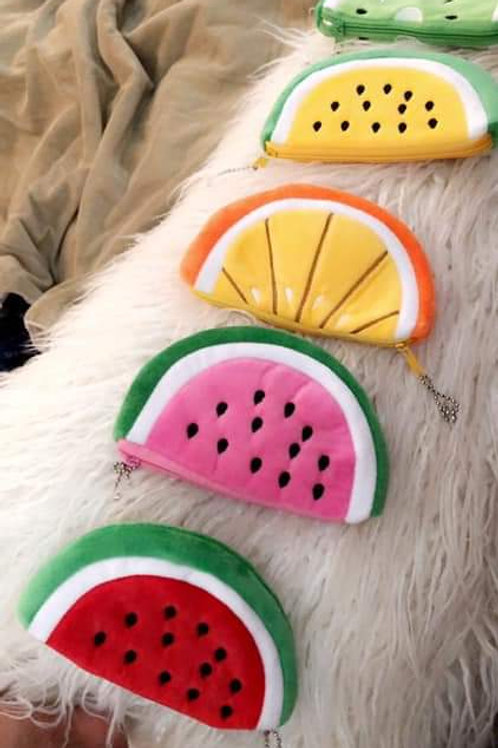Fruit Change Purses