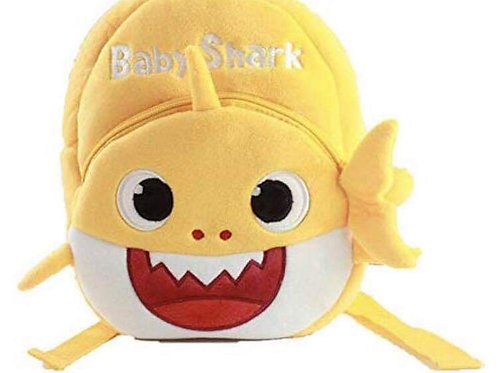 Baby Shark Yellow Backpack