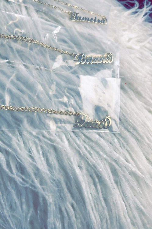 Pesonalized Name Necklace
