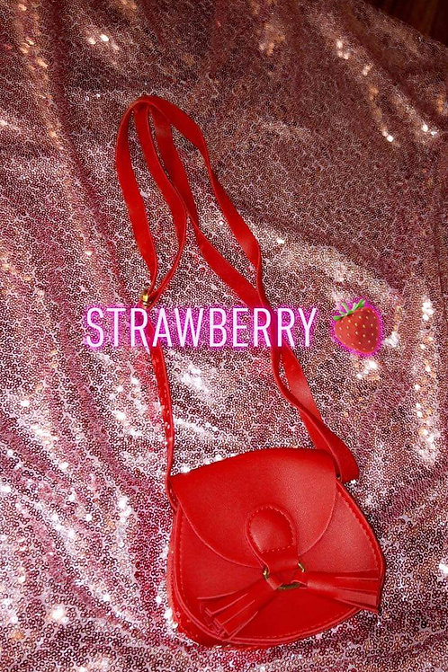 Strawberry - Little Girl Adjustable Purse