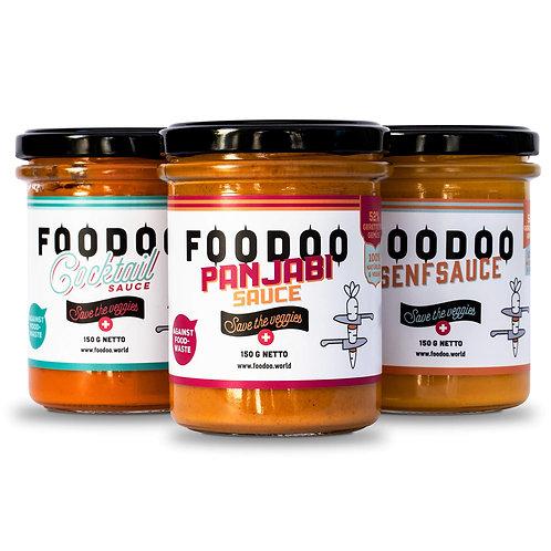 FOODOO Saucen im 6er Set (2x 2x 2x)