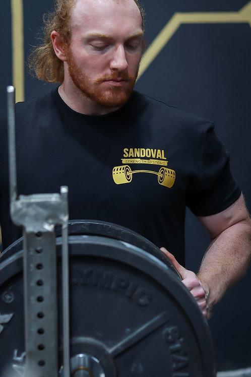 Gold logo Sandoval Tshirt