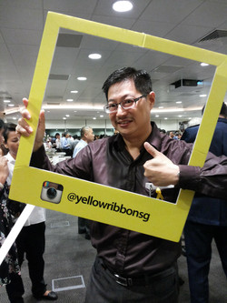 Support Yellow Ribbon SG Campaign