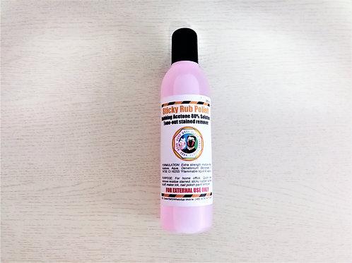 Effective Sticky Rubber Remover Polish Solvent 250ml per bottle