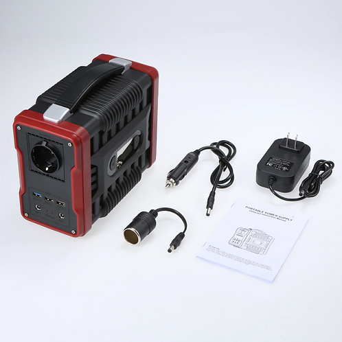 Rechargeable Portable Power Generator AC-DC Power Supply 200W 60000mAh