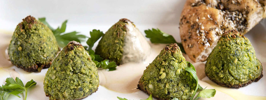 Green Baked Falafel