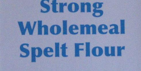 Strong wholemeal spelt flour 1kg